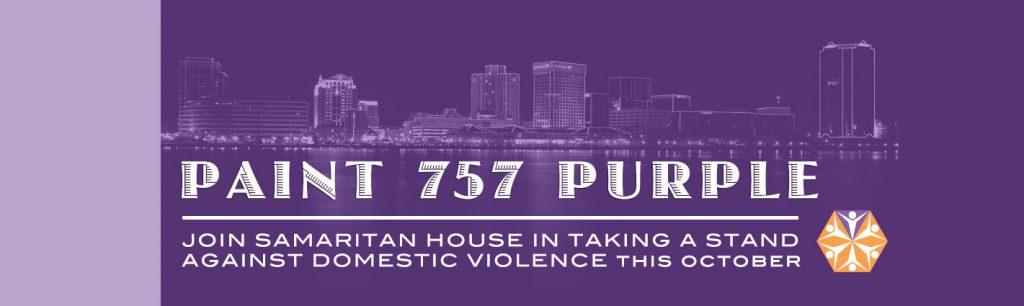 vibe mural for paint 757 purple samaritan house