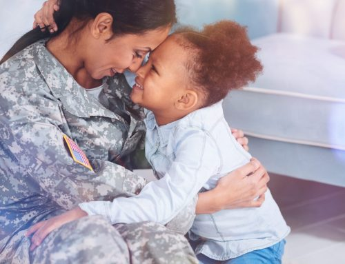 Client Success Story: Veteran Left Abuse to Protect Her Children, Now All are Thriving